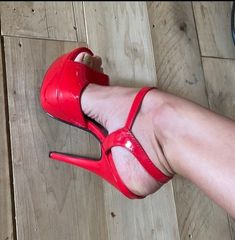 Thigh High Heels, Red High Heels, High Heels Stilettos, High Heel Boots, Strappy Heels, Womens High Heels, Stiletto Heels, Sexy Legs And Heels, Hot Heels