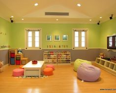 lighten room. what if we create fake windows for the nursery?