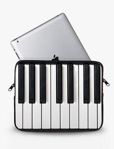 Piano Keys iPad Sleeve - if only I had an iPad