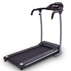 Goplus Folding Treadmill Electric Motorized Power Fitness Running Machine with LED Display and Mobile Phone Holder Perfect for Home Use (Black) Running On Treadmill, Running Workouts, At Home Workouts, Running Belt, Foldable Treadmill, Folding Treadmill, Running Machines, Workout Machines, Home Gym Equipment