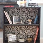 Redo a small bookshelf with fabric and some legs!! (note Pin Takes you to blog but not actual tutorial for making it) the tutorial was easy to find though!