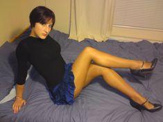 as a girl, great legs