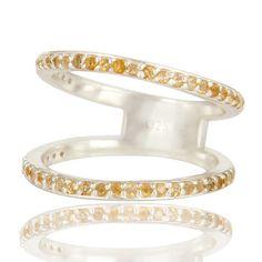 SALE- Citrine Ring, Citrine Gemstone Ring, Citrine Silver Ring, Citrine Engagement Ring, November Birthstone Ring, Anniversary Band  #jewelry #fashionjewelry #Jewelrylover #fashionista #gemstonejewelry