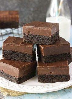Nutella Fudge Brownies | Food Recipes