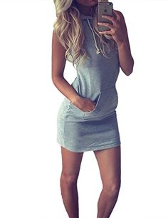 af86ac5c76cd Buy Hot 2016 Summer Women Ladies Casual Sport Shirt Hooded Dress Sundress  robe Vintage Sexy Slim Bodycon Party Night Club Dresses in Women s Dresses  on ...