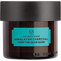 The Body Shop - Himalayan Charcoal Purifying Glow Mask. Good dupe for Glamglow face mask!