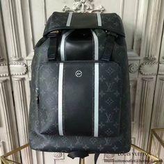 267f074ee2259 Louis Vuitton M43409 Zack Backpack Monogram Eclipse Canvas. Authentic  Luxury · Louis Vuitton Men Bags Father s Day Sale