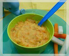 Kohlrabi-Möhren-Brei mit Kartoffeln