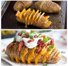 Loaded Hassle back Potatoes tipit #Recipes #Trusper #Tip