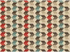 Red/Beige geometric home fabric by Kravet. Item 33637.1619.0. Best prices and free shipping on Kravet fabrics. Over 100,000 luxury patterns and colors. Always 1st Quality. Sold by the yard. Width 54.5 inches.