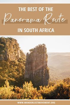 The Panorama Route in South Africa is the most scenic road trip in the country and one of Africa's greatest natural wonders. Here's my 2-day itinerary for the Panorama Route & everything else you need to know to have an epic road trip through the beautiful Mpumalanga region! | Panorama Route South Africa | Panorama Route Map | South Africa Travel Tips | South Africa Road Trips | South Africa Photography | #southafrica #africa #panoramaroute #roadtrip #traveltips