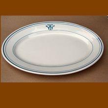 Scarce Washington Terminal Restaurant Railroad China Platter