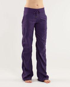 59abc69a4 Lululemon Studio Pant II  No Liner - Concord Grape