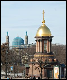 The Trinity Chapel and Saint Petersburg Mosque