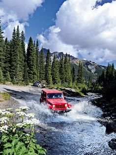 ~~this could be ME!!...~~ ...my red wrangler in the mountains of Montana!!~~