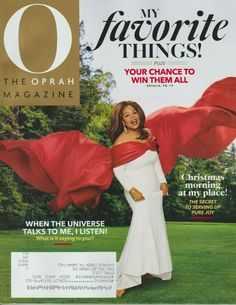 O The Oprah Magazine December 2019 MY FAVORITE THINGS! O The Oprah Magazine, Talk To Me, Best Brand, Equality, Online Price, December, Pure Products, My Favorite Things, Ebay