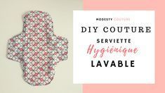 Super detaljeret tutorial til at lære at sy en hygiejnebind lava . Blog Couture, Diy Couture, Sewing Online, Sanitary Napkin, Easy Face Masks, Learn To Sew, Pattern Making, Needlework, Sewing Projects