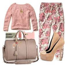 """""""Going to Atlantic city this Sunday! Yayy!"""" by loveclohthssomuch ❤ liked on Polyvore featuring Hollister Co., MAC Cosmetics, Kate Spade, Yves Saint Laurent, Nordstrom Rack, women's clothing, women, female, woman and misses"""
