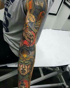 toni-donaire-tatuaje-grifo-neotradicional