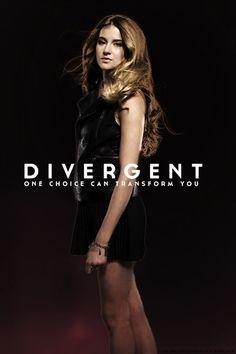 shailene woodley divergent movie official poster | Divergent Movie Poster ~ Shailene Woodley as Tris Prior ☠