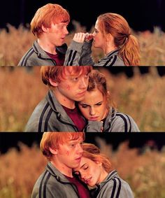 Ron and Hermione - Harry Potter