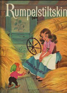 Rumpelstiltskin book cover illustrated by Elizabeth Webbe (1963)