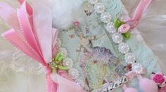 Marie Antoinette Lace Journal With Roses by underthenightmoon, $21.00