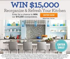 Enter for your Chance to Win $15,000 Sweepstakes