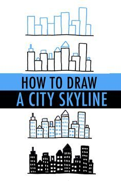 It may look daunting, but cityscapes are actually quite easy to draw! Find out how to draw a city skyline with simple shapes and forms 3 ways on Craftsy!
