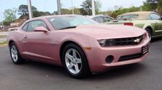 Pink Camaro, Chevrolet Camaro, Pink Chevy, Fancy Cars, Cool Cars, Vw Cabrio, Lux Cars, Barbie, Pretty Cars