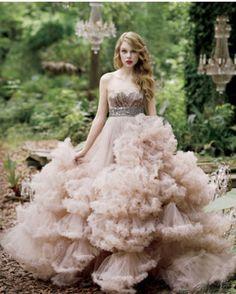 Dream Special Design Wedding Dress ♥ Fairy Wedding Dress