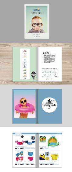 Refonte du catalogue général, nouveau positionnement Branding, Catalogue, Logos, Map, Bathing, Baby Newborn, Brand Management, Location Map, Brand Identity