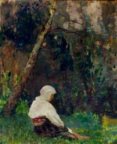 Post Impressionism, Impressionist, Frasier Crane, Tree Quilt, Bucharest, Verona, Painting, Trees, Europe