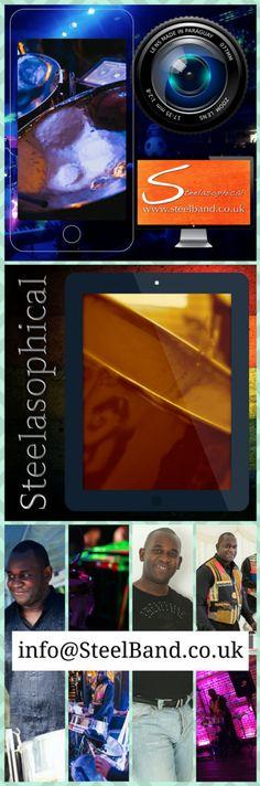 CARIBBEAN NIGHT Steelasophical Steel Band Music Drum Pan Hire UK Steelasophical www.Steelband.co.uk (2) Steelasophical SteelBand SteelPan
