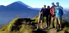 Try to have unforgetable mount trekking's memory during spend your great holiday in Bali.