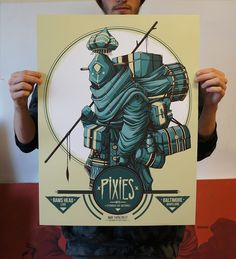 Mike Fudge Pixies Baltimore Posters Release
