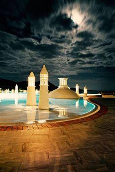 Pool- Six Senses SPA Bodrum Turkey http://www.kempinski.com/de/bodrum/hotel-barbaros-bay/welcome/ Travel luxurious! The best Hotel resort again in 2013! Experience ANIKA ORGANIC LUXURY in Bodrum!