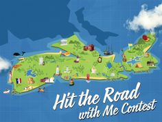 You can WIN a road trip in Nova Scotia for you and 3 friends. Or family members. Or both! Enter today!
