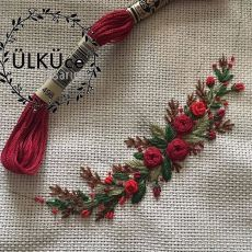 Wonderful Ribbon Embroidery Flowers by Hand Ideas. Enchanting Ribbon Embroidery Flowers by Hand Ideas. Embroidery Flowers Pattern, Simple Embroidery, Rose Embroidery, Hand Embroidery Stitches, Silk Ribbon Embroidery, Hand Embroidery Designs, Cross Stitch Embroidery, Embroidery Ideas, Embroidered Flowers
