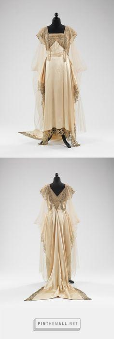 Evening dress by Callot Soeurs 1915-16 French | The Metropolitan Museum of Art