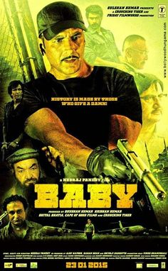 Baby 2015 Hindi 720p BRRip 1.2GB   Hit Movies 2
