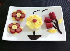 Another flower power bento... Made with love for our grandmom's memory...