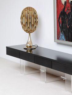 Minimalistisches Und Stilvolles Schwarzes Sideboard