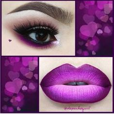 Lipstick And Eyeshadow Colors To Try This Weekend ❤ liked on Polyvore featuring beauty products and makeup