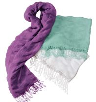 $19.99 Light and Ruffle Three-Pack Scarf. Summer Wrap-Up!
