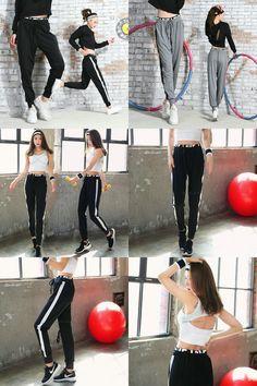 [Visit to Buy] 2017 Loose Lulu Yoga Pants Workout leggings Tights Running Athletic Sport Women Fitness Sportwear Gym Trousers Sports leggins #Advertisement