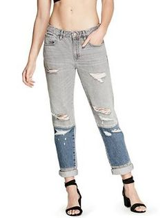 Jessie Boy-Fit Jeans | shop.GUESS.com