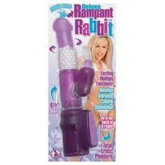 Nasstoys Waterproof Deluxe Multifunction Rampant Rabbit With Pearls Purple ** Read more reviews of the product by visiting the link on the image.