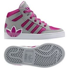 My Adidas-High top (look at this adidas shoes Light Onyx/Light Onyx/Blast Purple ) ADIDAS Womens Shoes -