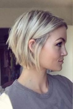Styling Tips for Short Hairstyles - Bob Hairstyles for Fine Hair, . - Styling Tips for Short Hairstyles – Bob Hairstyles for Fine Hair, – - Oval Face Hairstyles, Medium Bob Hairstyles, Haircuts For Fine Hair, Short Bob Haircuts, Short Thin Hairstyles, Layered Hairstyles, Hairstyle Short, Beautiful Hairstyles, Formal Hairstyles